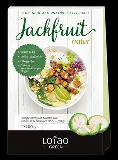 Jackfruit Green | Bio Jackfrucht - Jackfruit pur
