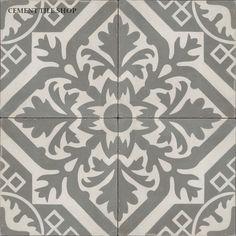 Cement Tile Shop - Encaustic Cement Tile   Newcastle Antique