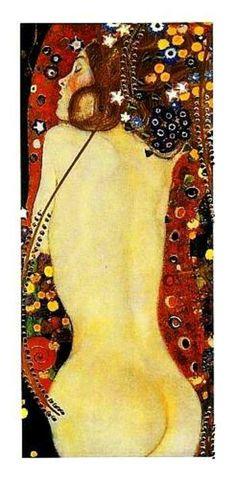 Gustav Klimt. Como adoro.