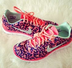Cute workout Nike shoes