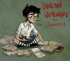 Duncan quagmire - a series of unfortunate events