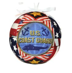 United States Coast Guard Patriotic Christmas Ornament Gift For Him Or Her by craftcrazy4u, $13.00
