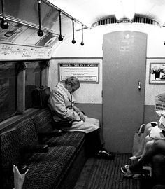 It's hard to imagine that the Central Line was ever as quiet as this. to the London underground in 1974