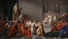 Beware the Ides of March!  The Death of Julius Caesar by Vincenzo Camuccini