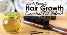 """When I was in college, I never thought I would some day be writing about a DIY Essential Oils for Hair Growth Blend. Some people referred to me as the """"bi"""