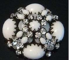 antique milk glass jewelry - Google Search