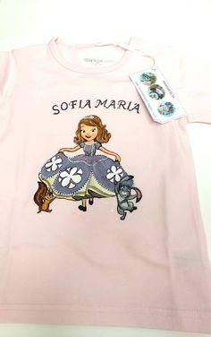 """Handmade by Do : Hand painted girl T-shirt """" Princess Sofia""""/ Trico. Princess Sofia, Graphic Sweatshirt, T Shirt, Textiles, Hand Painted, Sweatshirts, Sweaters, Kids, Handmade"""