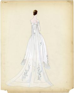 Lucile Ltd. wedding dress sketches Lucile was the professional name of Lady Duff Gordon one of the first British fashion designers to attain an international reputation. Fashion Prints, Fashion Art, Fashion Show, Vintage Fashion, Fashion Design, 1900s Fashion, Vintage Couture, Fashion Sketches, Fashion Illustrations