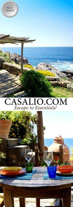 www.casalio.com    Villa Gianni    Island of Ischia, Italy    Villa Gianni is…
