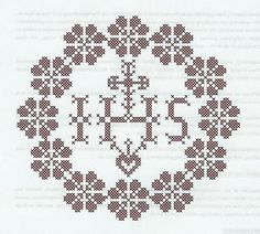 Weihkorbdecken Counting Pattern - Christmas Basket - Themes Source by marijaweisskirchen Easter Cross, Christmas Baskets, Lost Art, Knitting Projects, Doilies, Hand Embroidery, Cross Stitch, Pattern, Medici