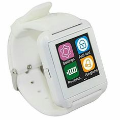 """Onix U Watch U8 Smartwatch  Strap Hanya Warna Hitam   Spesifikasi :  Layar sentuh 148""""  Multi bahasa  Teknologi layar sentuh  Untuk Android dan iOs  Strap Silicon  I-one Smartwatch U8 adalah Smartwatch Bluetooth yang membuat menghubungkan ponsel Android dan iOs anda yang secara mudah mengakses - Panggilan telepon - Phonebook - Sms - Pedometer - Memutaran musik - Alarm - Calender - Stopwatch - dsb  Ready warna Putih  Harga: Rp199.000  Member discount 10% minat Join lihat DP  Untuk pemesanan…"""