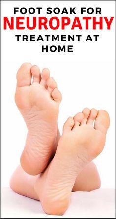Foot Soak for #Neuropathy #Treatment at Home #diabetes