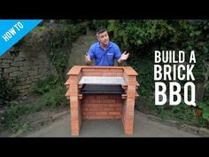 How to build a brick barbecue - YouTube