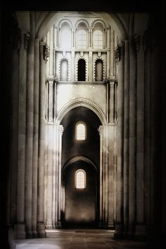 Cluny Abbey, Burgundy, France.