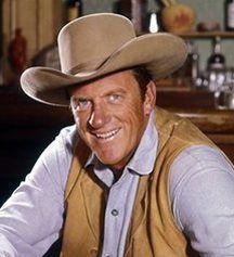 """James Arness as cowboy Matt Dillon in """"Gunsmoke"""""""