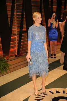 Elizabeth Banks in Jenny Packham. [Photo by Tyler Boye]
