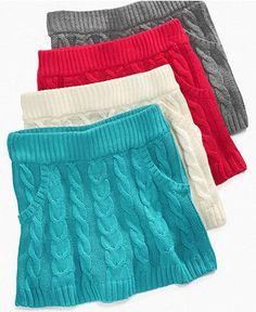 Energie Girls Skirt, Girls Cable Sweater Skirts - Kids Girls 7-16 - Macy's