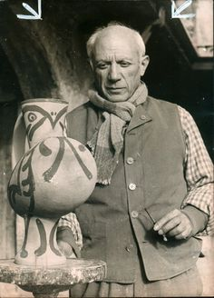 """Picasso"" by Pablo Picasso Henri Matisse, Henri Rousseau, Kunst Picasso, Art Picasso, Picasso Paintings, Paul Gauguin, Famous Artists, Great Artists, Cubist Movement"
