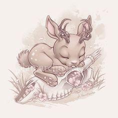 Jackalope Bunny