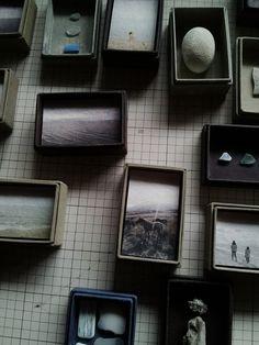 Voor verzameling silex artefacten
