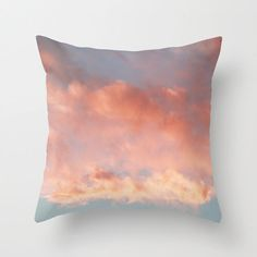 Pink and Blue Clouds and Sky Over Newport Rhode Island - Throw Pillow Cover by BrookeRyanPhoto on Etsy https://www.etsy.com/listing/158994845/pink-and-blue-clouds-and-sky-over