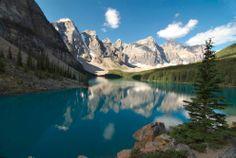 Moriane Lake; Alberta, Canada.