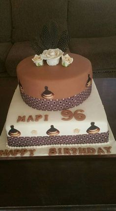 Traditional Wedding Decor, Traditional Cakes, African Wedding Cakes, African Cake, Birthday Cakes, Wedding Decorations, Desserts, Food, Anniversary Cakes