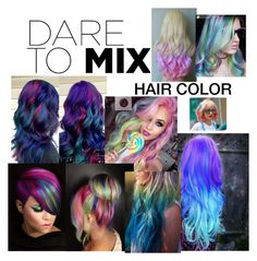 """""""The Art of Hair Color"""" by kotnourka ❤ liked on Polyvore featuring beauty, Capelli New York and patternmixing"""