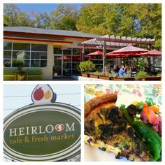Check out Heirloom Cafe in #Athens, #Georgia for a homey farm-to-table café experience!.