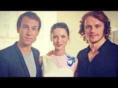 Outlander | Interview - Caitriona Balfe, Sam Heughan & Tobias Menzies - YouTube
