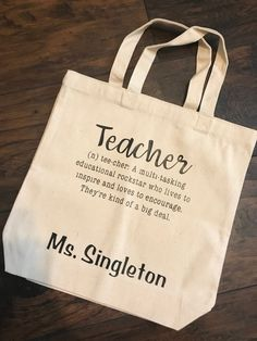 bf61c8013 14 Best Tote Bags for School images in 2019 | Canvas tote bags ...