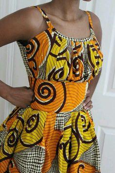 Estampa africana. …