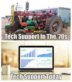 Yep - isn't like it used to be! #FarmerFriday