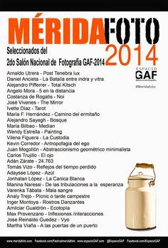 MERIDAFOTO: Seleccionados 2do Salón Nacional de fotografía GAF...