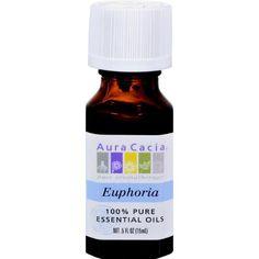 Aura Cacia Pure Essential Oils Euphoria - 0.5 Fl Oz