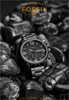 fossil watch advertisement - Google Search