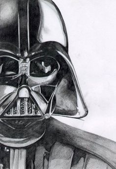 Darth Vader Sketch - Star Wars Vader - Ideas of Star Wars Vader - Darth Vader Sketch Pencil Drawings, Easy Drawings, Drawing Sketches, Drawing Ideas, Sketching, Darth Vader, Star Wars Zeichnungen, Star Wars Drawings, Star Wars Gifts