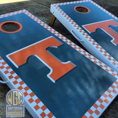 Officially Licensed University of Tennessee Cornhole by WGCornhole