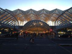 Estação do Oriente (Santiago Calatrava), Lisboa, Portugal