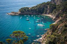 Costa brava - Monoï and motor oil... Paradise? #Spain #cycletouring #travel #adventure