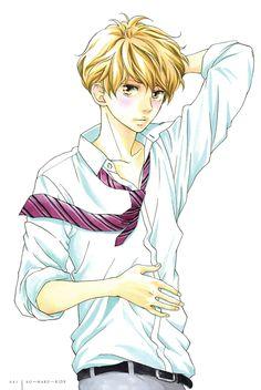Most handsome (male) anime character's Manga Anime, Manga Boy, Anime Art, Tanaka Kou, Futaba Y Kou, Ao Haru, Blue Springs Ride, Dark Drawings, Hot Anime Guys