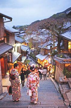 Kyoto, Japan - Visit Travel Den for amazing city breaks Osaka Japan, Japon Tokyo, Shinjuku Tokyo, Okinawa Japan, Collage Kunst, Collage Art, Beautiful World, Beautiful Places, Monte Fuji