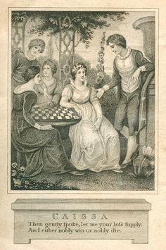 Caissa: Patron Goddess of Chess Players