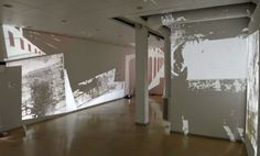 Natalia Koziel: Making Spaces, 2014, projisoinnit - Kuvan kevät 2014