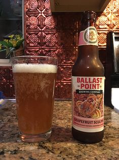 Grapefruit Sculpin by Ballast Point Brewing Company; San Diego, CA.
