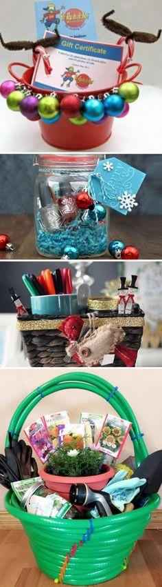 DIY Christmas Gift Basket Ideas.