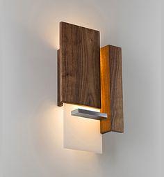 vesper - Cerno Barn Lighting, Living Room Lighting, Wall Sconce Lighting, Interior Lighting, Lighting Ideas, Wood Lamps, Diy Lamps, Modern Traditional Decor, Interior Architecture Drawing