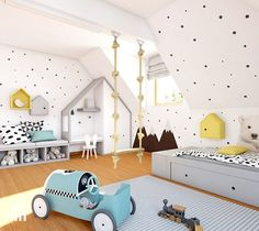 Toddler Rooms, Toddler Bed, Baby Room Decor, Bedroom Decor, Montessori Room, Inside Home, Boy Room, Child Room, Decoration