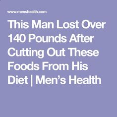 Eat Stop Eat To Loss Weight - Eat Stop Eat To Loss Weight - This Man Lost Over 140 Pounds After Cutting Out These Foods From His Diet | Men's Health - In Just One Day This Simple Strategy Frees You From Complicated Diet Rules - And Eliminates Rebound Weight Gain - In Just One Day This Simple Strategy Frees You From Complicated Diet Rules - And Eliminates Rebound Weight Gain
