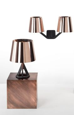 Copper wall light base copper wall light by tom dixon design tom base table lamp tom dixon mozeypictures Gallery